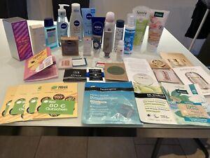 beautypaket XXL , Luxusproben, Glossybox, Nivea, Kneipp,Apricot Neu