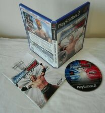 SMACK DOWN VS. RAW 2007 Ps2 Sony PlayStation gioco game completo prima stampa