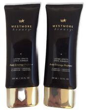 Westmore Beauty Lasting Effects Body Coverage Perfector 3.5 oz 98% Lot Of 2