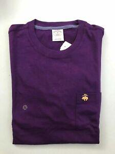 NWT 346 BROOKS BROTHERS Long Sleeve Men's Basic Classic 100% Cotton T Shirt