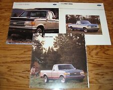 1989 1990 1991 Ford F Truck Series Brochures Lot of 3 89 90 91 Pickup F-150