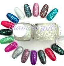 Essie Lux Effects Silver Glitter Nail Polish 3018 Sparkle on Top 13.5ml
