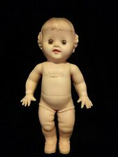 Sun Rubber Vintage Tod-L-Dee Squeak Doll Toy Works 1950's Awesome Condition!