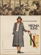 1970s vintage tobacco AD Cheryl Tiegs for Virginia Slims Cigarettes  (092616)
