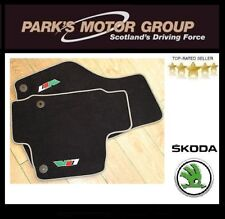 SKODA OCTAVIA VRS 2006 - 2012 *BRAND NEW & GENUINE* SET OF FLOOR MATS(STUD)
