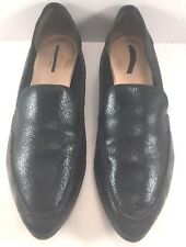 Kate Spade Black Suede Leather Carima Loafers Moccasins Womens Size US 11M