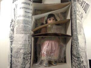 Rare Hamilton Collection Heritage Dolls Colette Porcelain 16 Inch Doll    ds1329