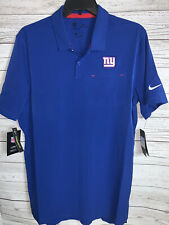 Nike New York Giants Nike Sideline Elite Performance Polo Royal Mens Size Medium