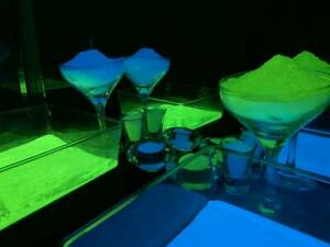 Phosphorescent, Luminescent, Glow in Dark Powder, Blue & Green, Charge in Light