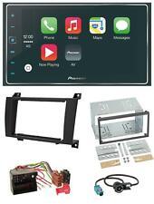Pioneer USB 2DIN MP3 AUX Bluetooth Autoradio für Mercedes SLK R171 2004-2011