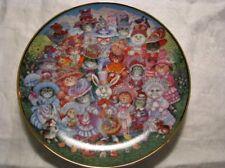 "Franklin Mint Bill Bell Cat Collector Porcelain Plate ""Easter Purrade"" Plate"