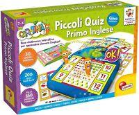 Lisciani 49172 Carotina Piccoli Quiz Primo Inglese