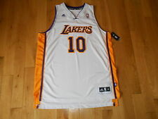 ADIDAS STEVE NASH LOS ANGELES LAKERS MENS NBA TEAM SWINGMAN BASKETBALL JERSEY XL