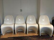 4 Panton S type chair copies / 4 copies de chaises type S Panton