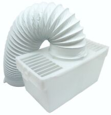 CREDA Tumble Dryer Condenser Vent Hose Ventillation Kit Box & Wall Mount