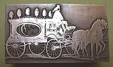 "A HORSE DRAWN ""HEARSE"" Printing Block."