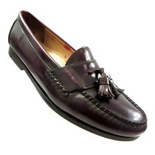 Cole Haan Mens 11.5 D Brown Leather Tassel Loafer Memory Flex