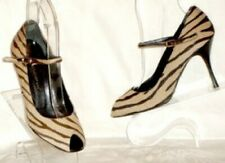 D&G DOLCE & GABBANA TIGER PRNT SHOES MARY JANES 38 $635