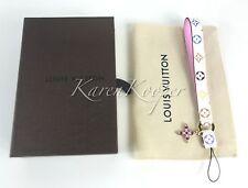 New Louis Vuitton Monogram Multicolore Murakami Phone Strap Key BAG Charm M60079