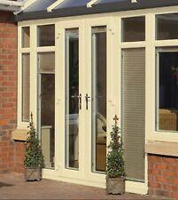 Cream uPVC French Door / Patio Doors / 1490mm x 2090mm / BRAND NEW