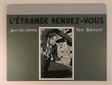 Blake et Mortimer Etrange Rendez Vous Portfolio Ted Benoit Vanhamme Champaka