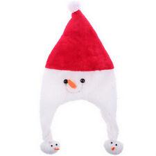 Fancy Easter Xmas Dress Decoration Snowman Christmas Hat Red Santa Cap Adult