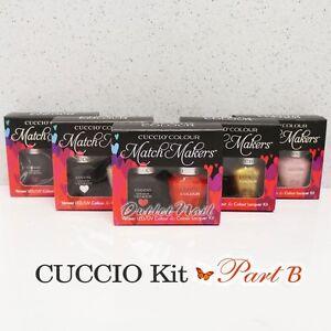 CUCCIO VENEER Match Makers - PART B DUO Nail Kit Gel Polish + Colour Lacquer SET