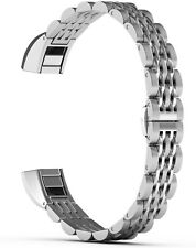 ImmSss Metal Bands Compatible for Fitbit Alta HR and Fitbit Alta for Women Men,