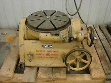 "SIP, SOCIETE GENEVOISE TILTING/ROTARY TABLE, 17 3/4"" TABLE, TYPE PI-5"