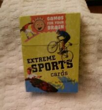 EXTREME SPORTS CARDS GAMES FOR YOUR BRAIN TINA SEELIG NEW IN  SEALED BOX
