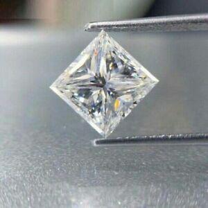 D/VVS1 Princess Cut Loose White Simulated Diamond, 6MM*-2023