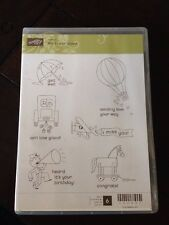Stampin Up Clear Stamp Set ~ Ain't Love Grand 6 Stamps