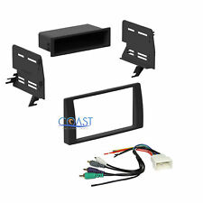 Car Stereo Single Double DIN Dash Kit JBL Harness for 2002-2006 Toyota Camry