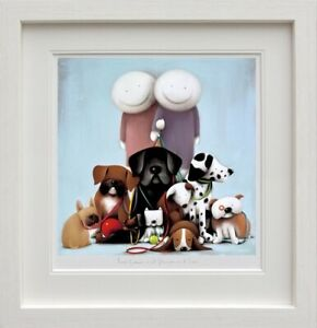 """DOUG HYDE  """"LOVE COMES IN ALL SHAPES AND SIZES"""" NEW LTD EDT GICLEE PRINT FRAMED"""