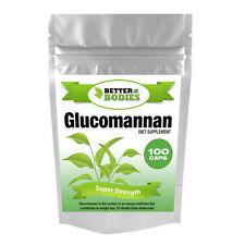 100 Glucomannan Max Konjac Fibre Diet Weight Loss Supplement Pills