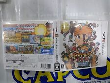 3DS GAME INAZUMA ELEVEN 123 (ORIGINAL USED)