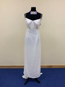 House of Nicholas Ivory wedding prom pageant dress size 16. Code 425