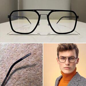 Lindbergs Eyeglasses CLASSY, TIMELESS, UNISEX eye frames in black ***NEW