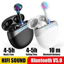 Wireless Bluetooth 5.0 Stereo Earbuds Earphone Headset In-Ear Touch Headphones