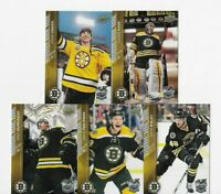 BOSTON BRUINS UPPER DECK WINTER CLASSIC SET Chara PASTRNAK Rask MARCHAND Krejci