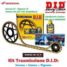 100274 - Kit Trasmissione DID Corona+Catena+Pign HONDA Transalp 700 ABS dal 2008