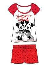 Ladies Girls Novelty Shortie Shorts PJs Ariel Wonder Woman Batgirl Minnie Moose