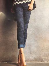 Pantalone Jeans Donna blu camouflage DennyRose