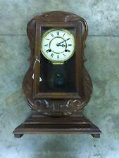 Guitar Mantle Clock