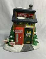 COCA COLA TOWN SQUARE COLLECTION COOPER FARMS CHRISTMAS TREES 1996 LIGHT FIGURE