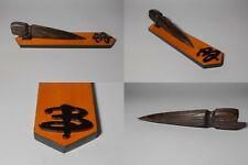 BUFFY THE VAMPIRE SLAYER Stake prop replica Inspired paletto in legno stand