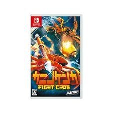 Fight Crab Nintendo Switch 2020 Japanese English Chinese Factory Sealed