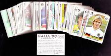 MANCOLISTA FIGURINE PANINI WORLD CUP ITALIA 90 1,00 CAD. COMPLETA L'ALBUM MINT