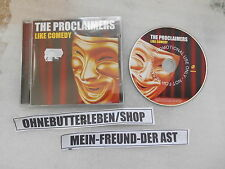 CD Indie Proclaimers - Like Comedy (12 Song) Promo COOKING VINYL