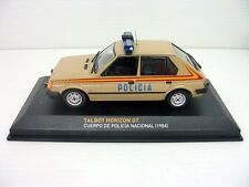 1/43 COCHE  POLICIA NACIONAL TALBOT HORIZON metal car model diecast police